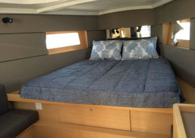 Yacht Bedding Blue-ish/Grey Solid