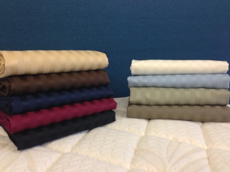 600 Thread Count Egyptian Cotton Stripe Sheet Sets