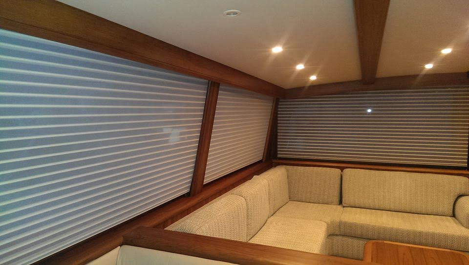 Custom Window Blinds For Boats Yacht Curtains Cabin Shades