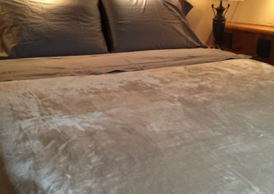 Yacht Bedding Grey Silk