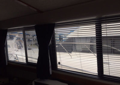Yacht Blinds Open White