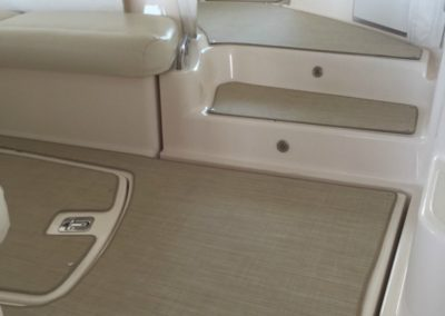 Yacht Flooring Beige Stair Step