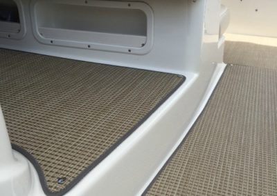 Yacht Flooring Beige Seating Area