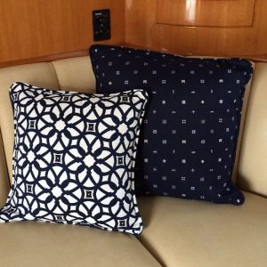 Boat Pillows and Throws