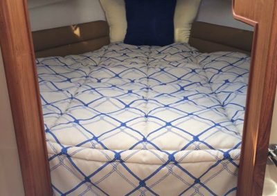 Yacht Bedding Blue and White Sideways Squares