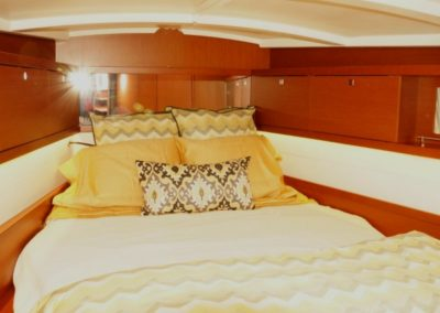 Yacht Bedding Yellow and White Sheets